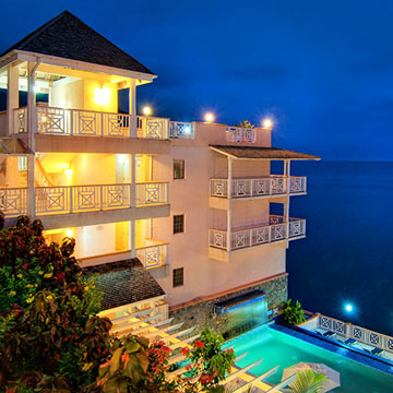 Fort Young Hotel i Dominica