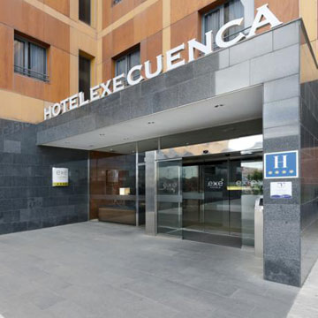Exe Hotell i Cuenca, Spanien