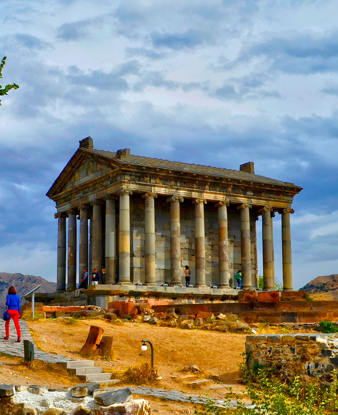 Garni Pagan Temple, Armenien
