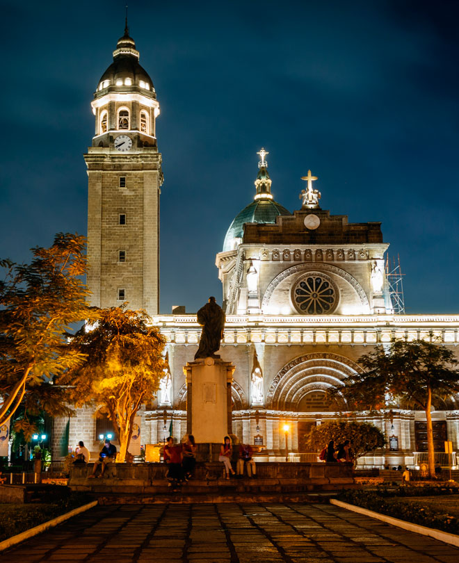 Minor Basilica and Metropolitan Cathedral, Manila, Filippinerna