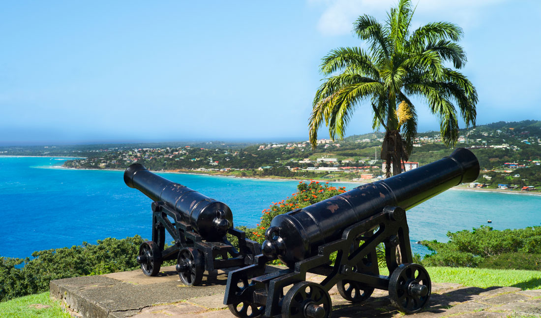 Canon at fort St.Geroge, Scarorough, tobago
